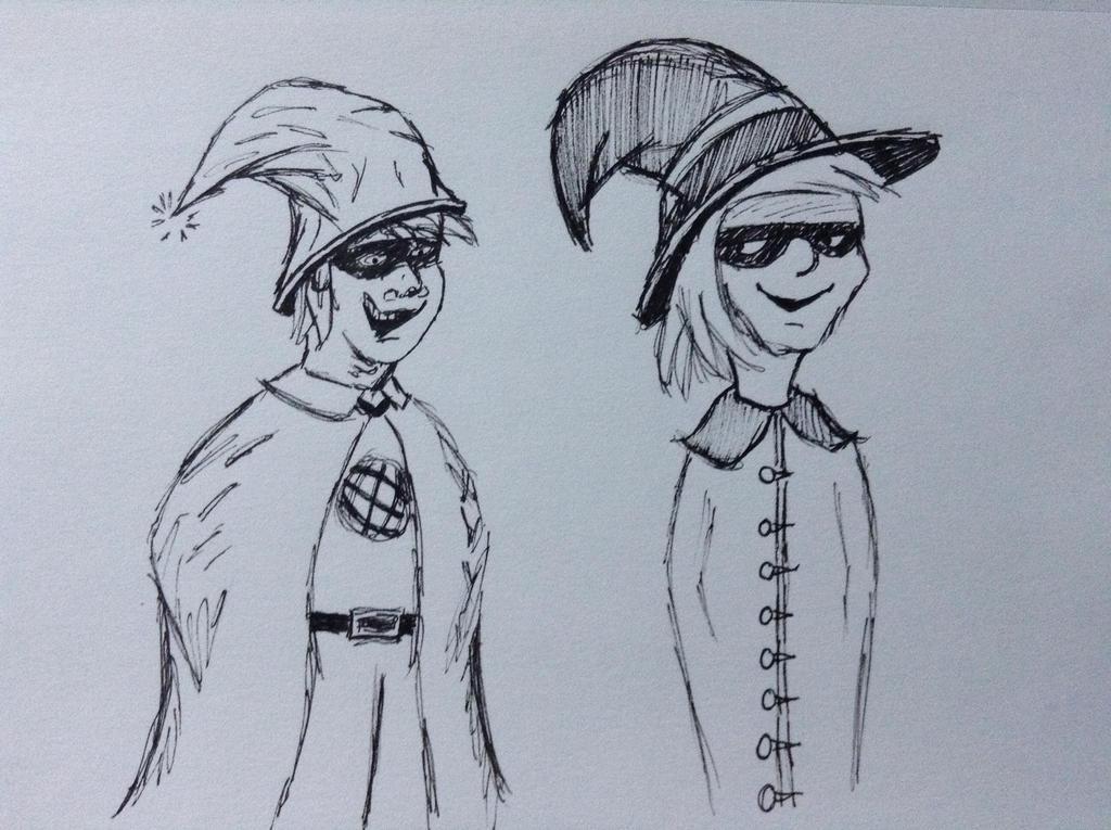Magic thieves by mifortin