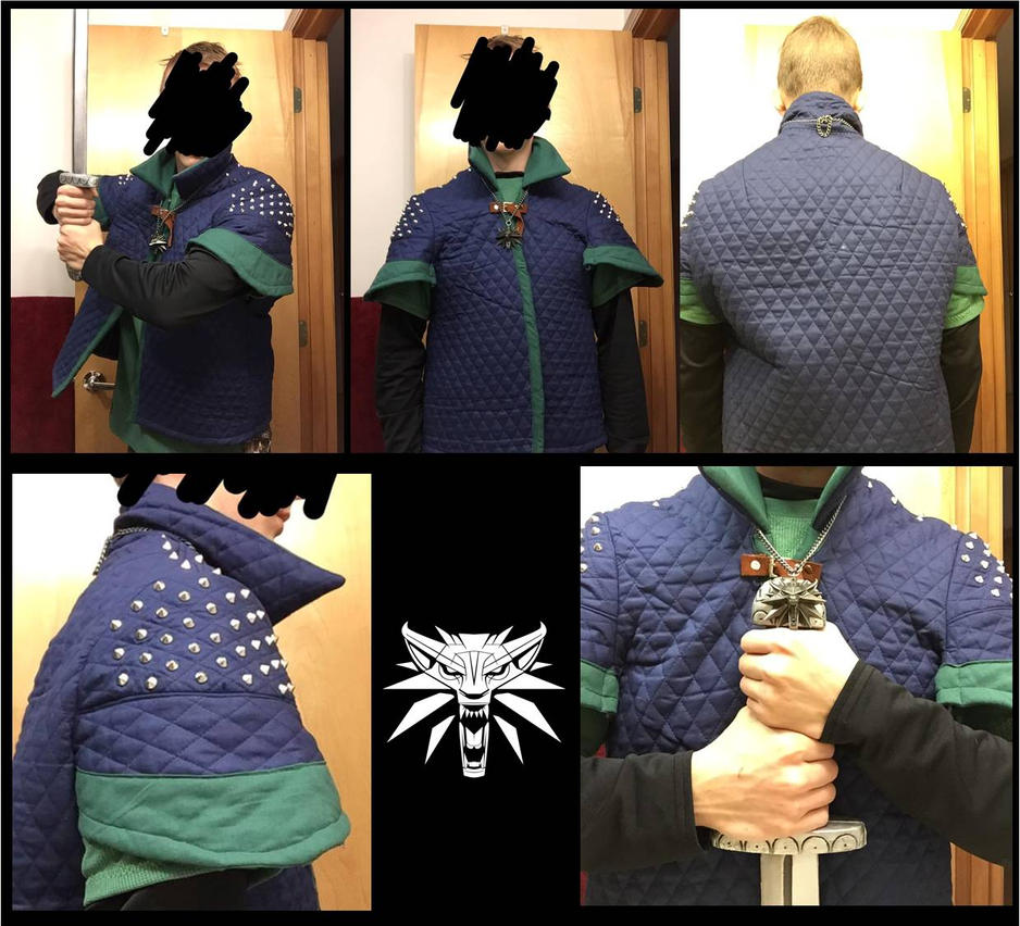 Witcher Costume Progress by Nyhlus-Lyitning