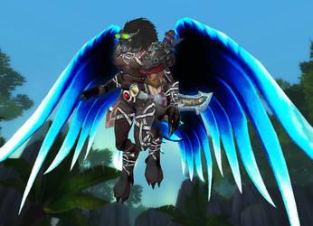 Wow: Wolf Angel by Darkwowforever