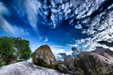 Love's on the Rock Island by rosekampoong