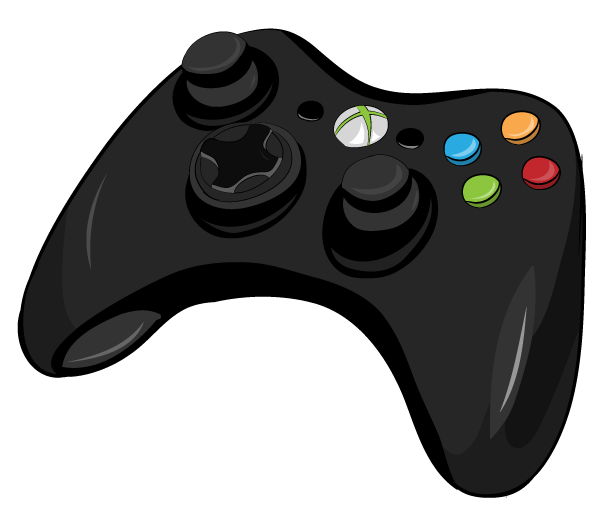 D Line Drawings Xbox : Xbox controller by arycarys on deviantart
