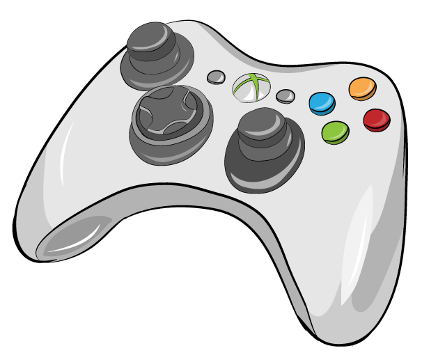 Drawing Lines Using Xbox One : Xbox controller white by arycarys on deviantart