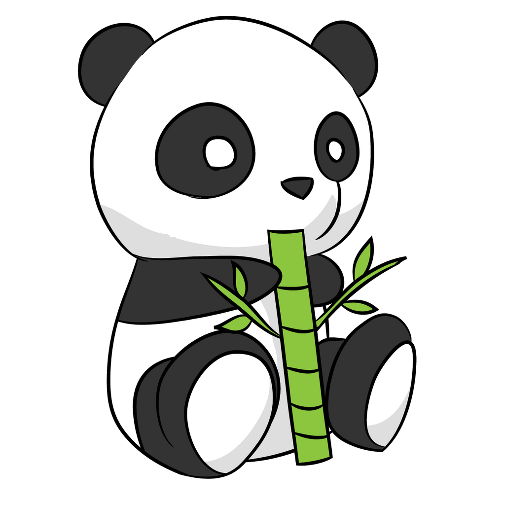 cute panda drawing by arycarys on deviantart