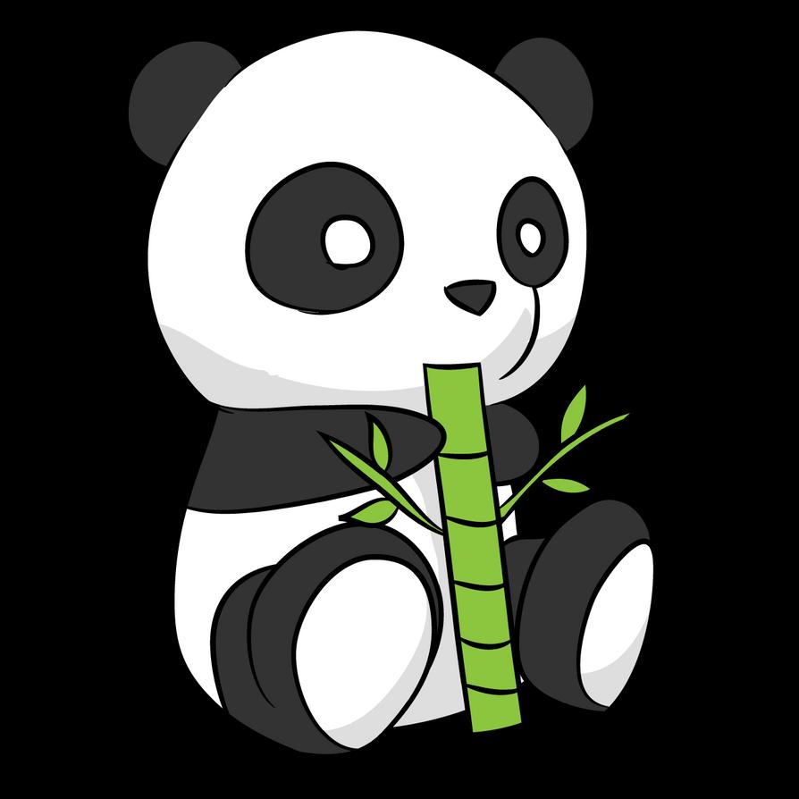 simple panda clipart - photo #26