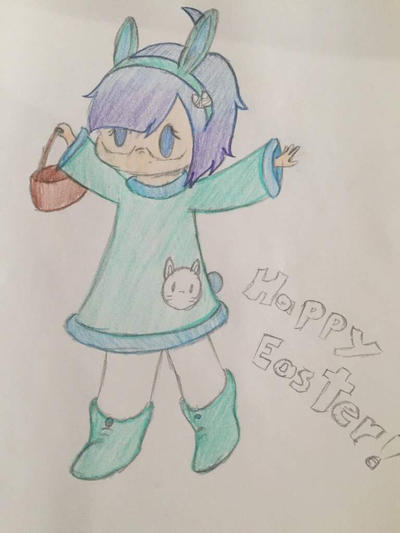 Happy Easter!! by squiloverskyfan