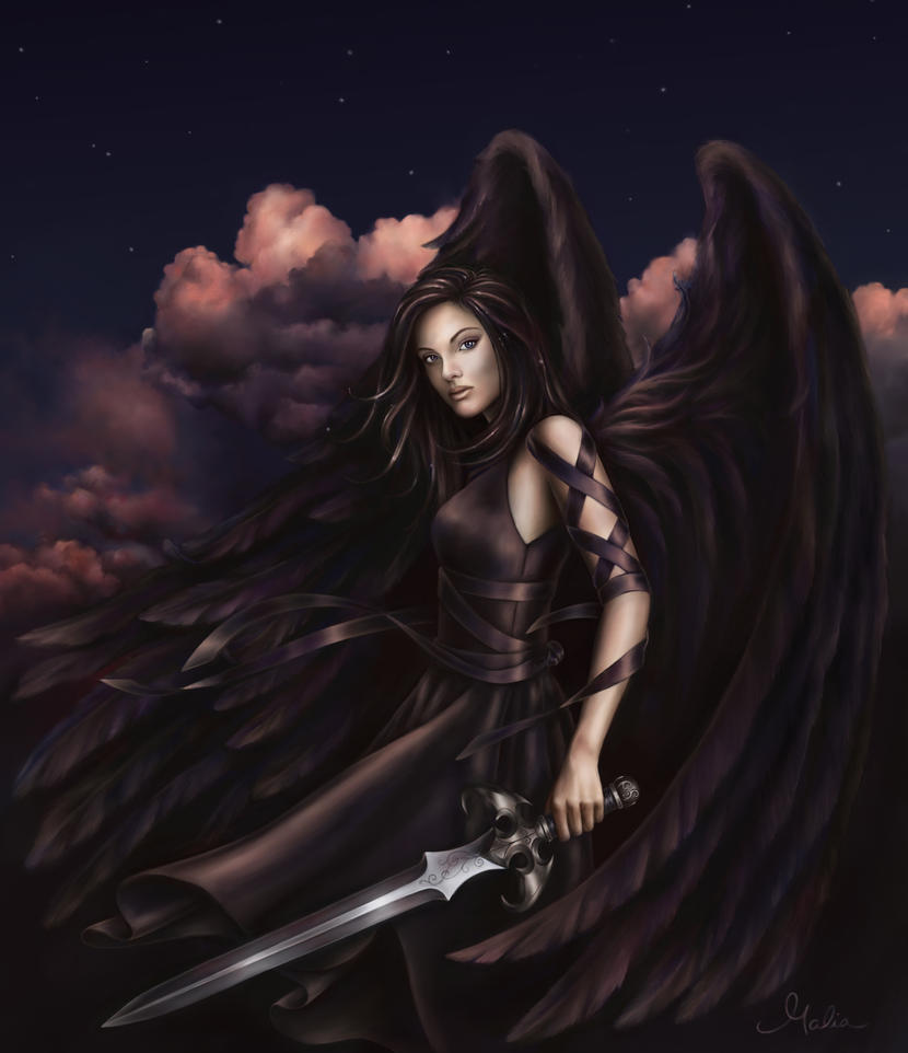 Черный ангел в киеве 16 фотография