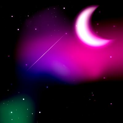 Espacio exterior brilloso by SoyUnTaldox