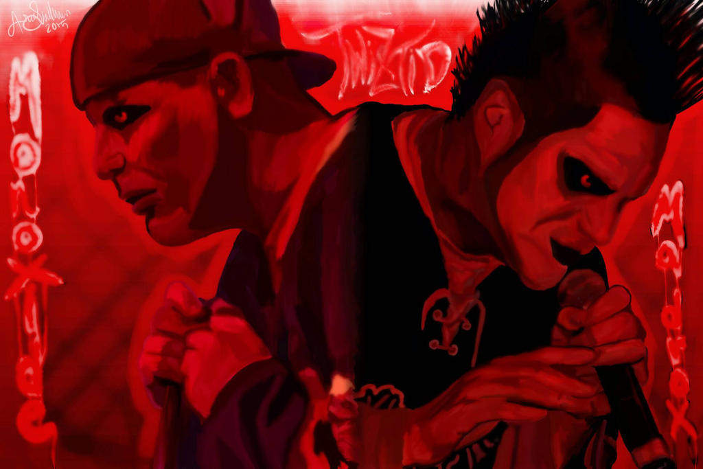 Twiztid!!! I'm super proud of this :) by TheDeepDarkEnd