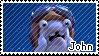 Rabbid John stamp by RabbidLu
