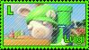 Stamp Luigi by RabbidLu