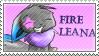 FireLeana stamp by avui
