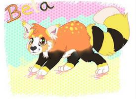 Beta the red panda