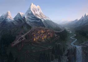 Dragon Valley by Lothrean