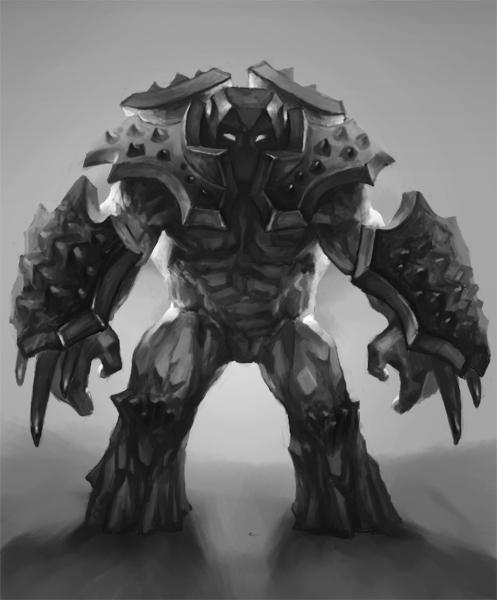 Titan by Lothrean