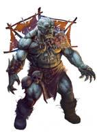 Black Ogre Shaman by Lothrean