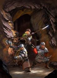 Dwarven Mercenaries by Lothrean