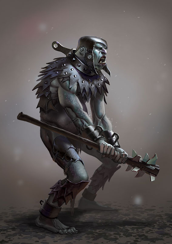 War Ogre by Lothrean