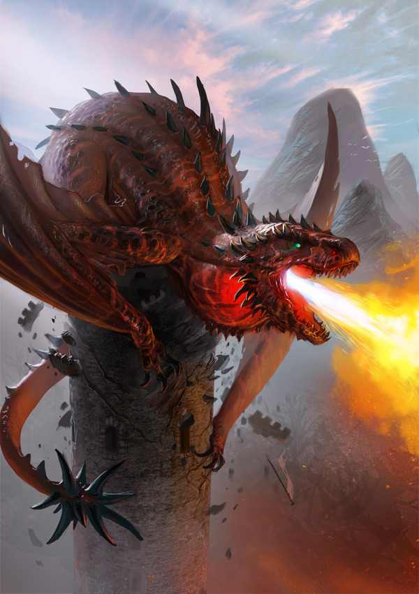 Red Fire Dragon: Magic, Supernatural And Apocalyptic RPGs