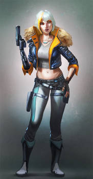 Cyber Punk Girl