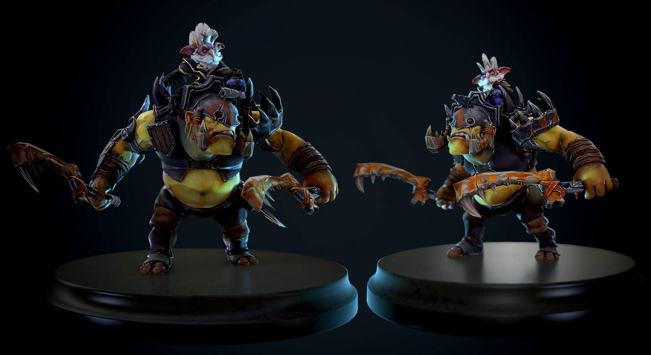 Dota 2 Alchemist - The Convicts' Trophies by Lothrean