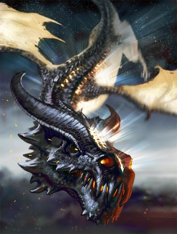 Sun Dragon by Lothrean