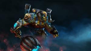 Dota 2 - Elder Titan - Harness of the Soulforged