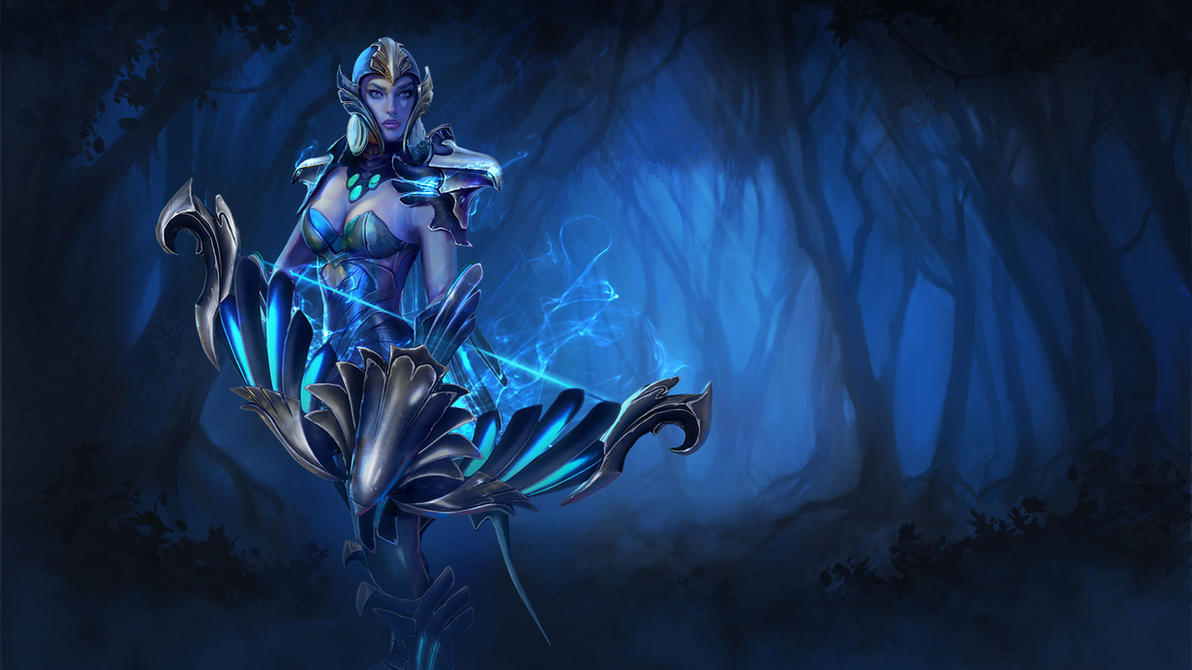 Best Dota 2 Wallpaper Drow Ranger Dota 2 Dota 2 Fan Art Drow Ranger