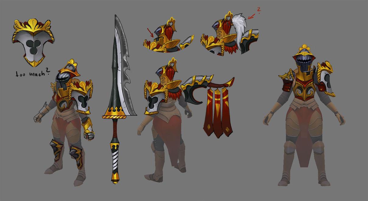 Dota 2 - Legion Commander by Lothrean