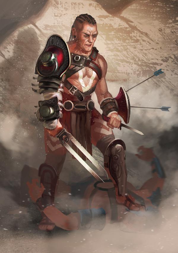 Gladiator by Lothrean