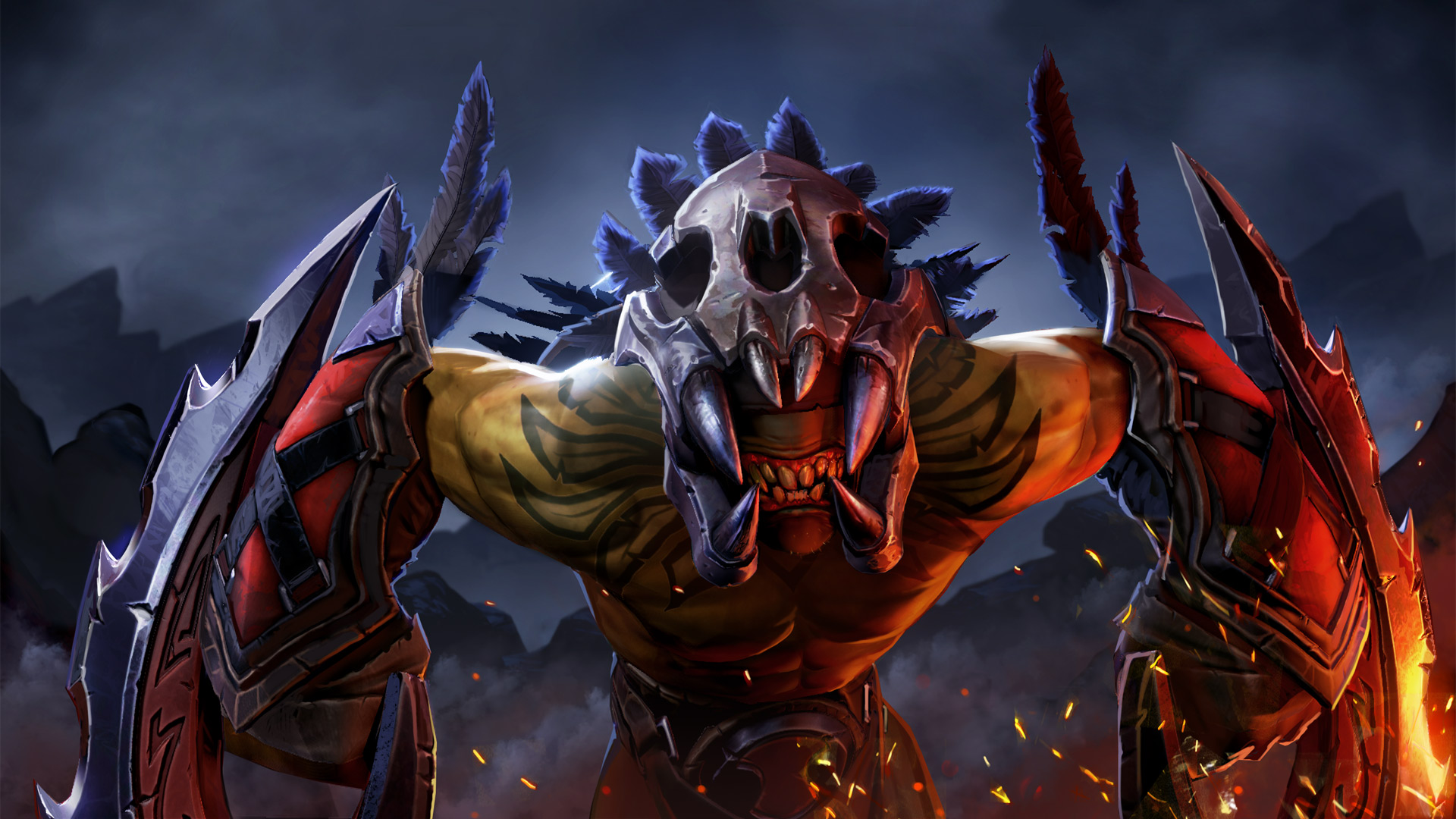 Dota 2 - Bloodseeker Wallpaper by Lothrean on DeviantArt