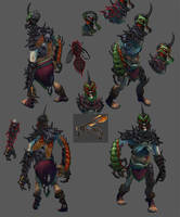 Dota 2 Undying by Lothrean