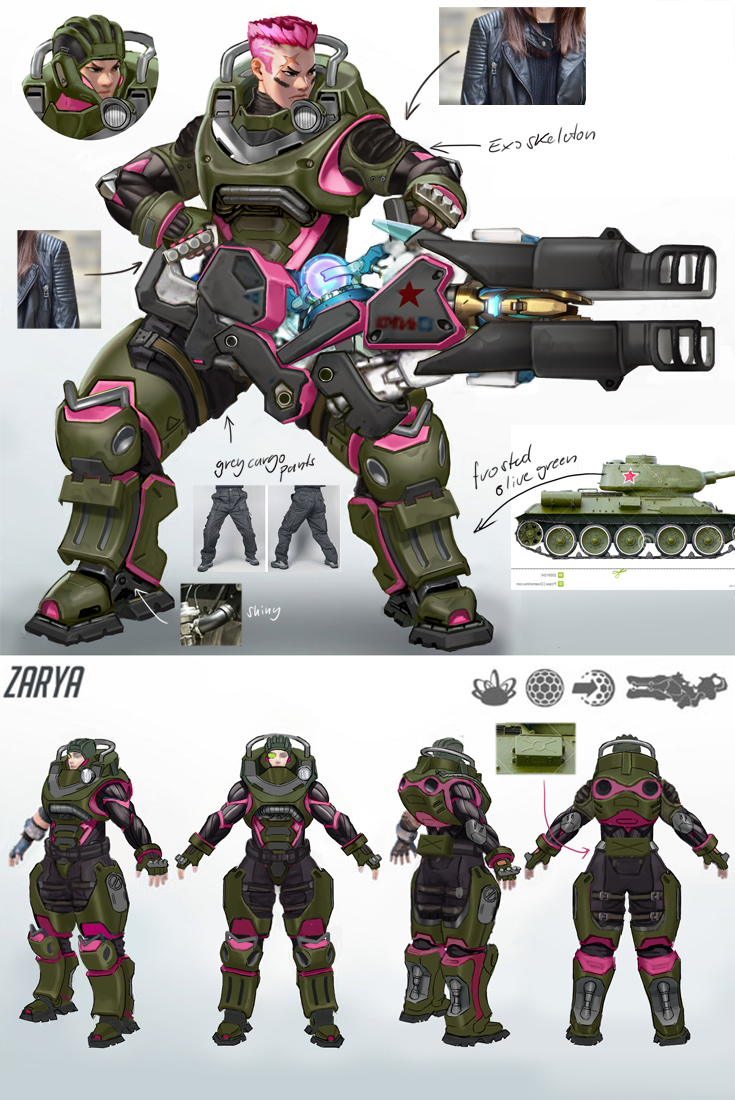 Petition to give us HOTS Zarya Skin - Overwatch Forums