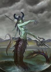 Wrath of the Sea by Lothrean