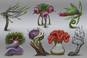 Weird Plant Ideas by Lothrean