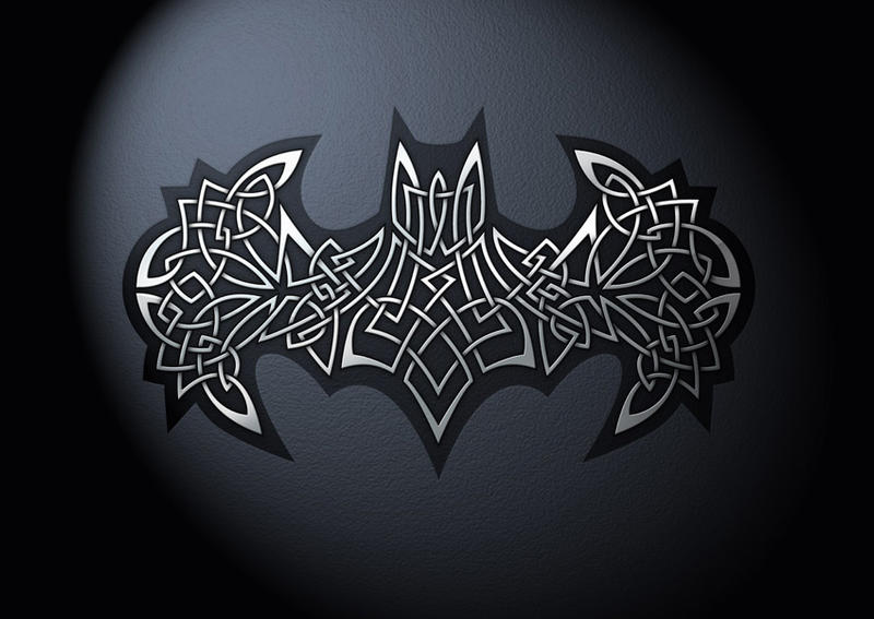 Celtic Batman Logo By Helgivilberg On Deviantart
