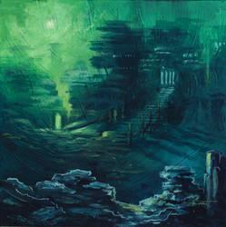 Foggy Dawn Colony by TheTrueMoonroot