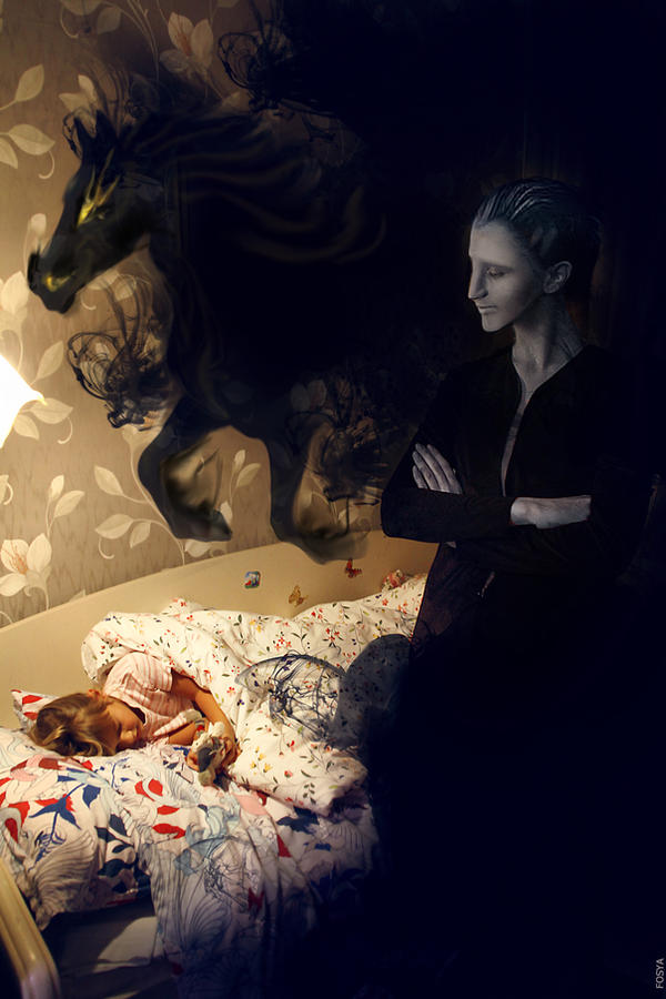 Goodnight, my little child... by fosya