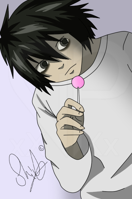 L and Lollypop by HwayoungMarshmallow