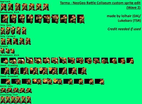 Tarma - NeoGeo B.C. custom sprite edit (Wave 2)