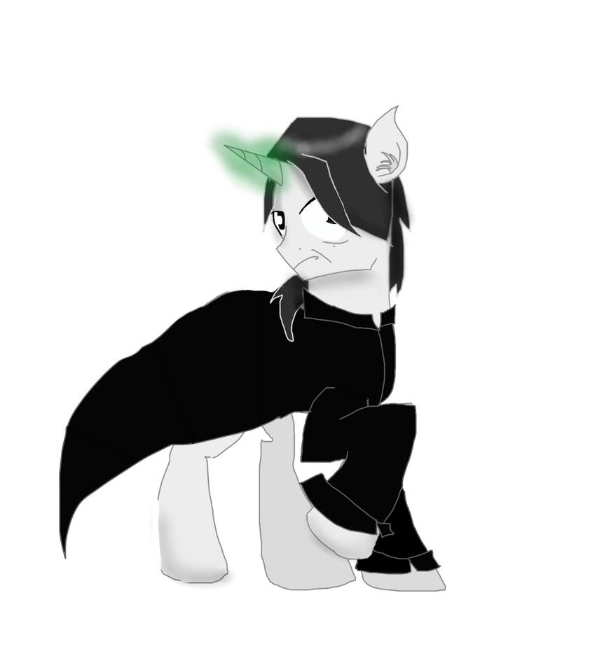 Snape Pony by GummyTheMlpAlligator