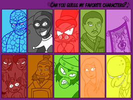 Guessing character games by Bogswallop