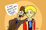 My two favourite Doctors