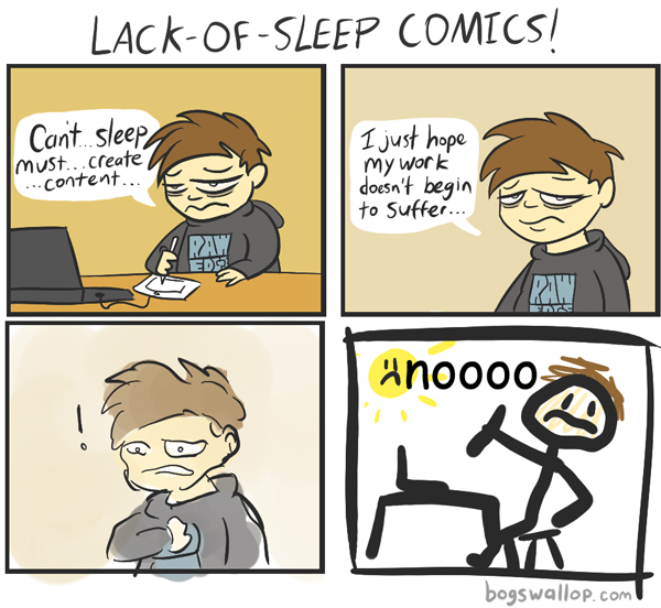 lack of sleep cartoons  Humor from Jantoo Cartoons