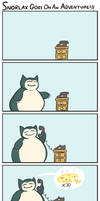 Snorlax Adventure by Bogswallop
