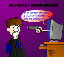 Internet is serious business