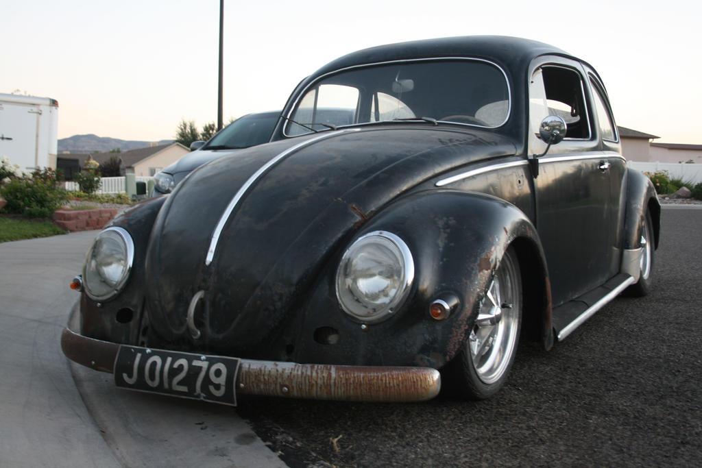 1955 VW Bug by scribbledink