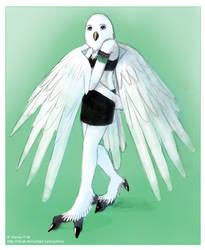 Owl Lady by iduck