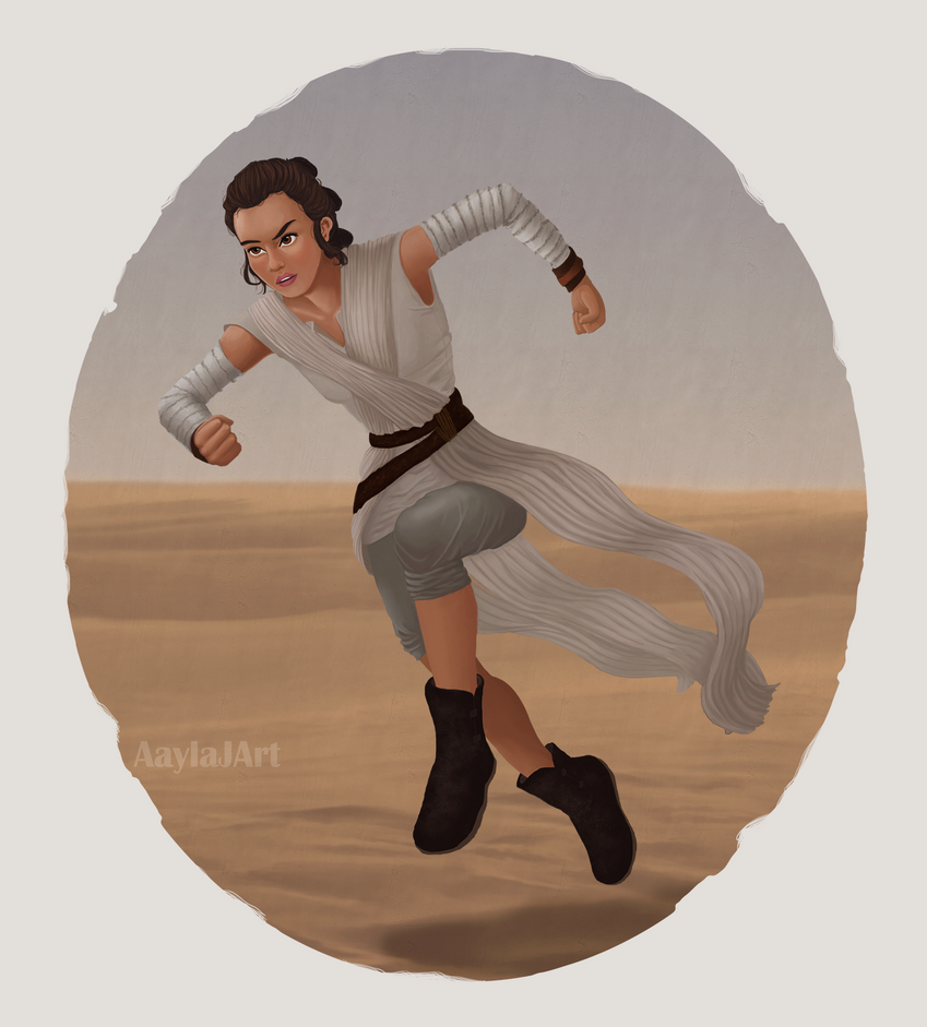 Rey by airealataiel