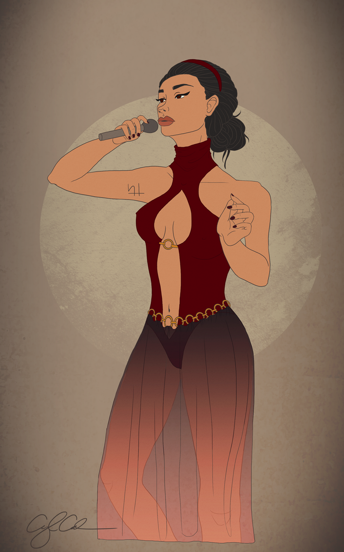 Chanteuse by airealataiel