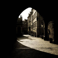 arch of prague by almiller